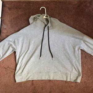 Romwe Cropped hoodie